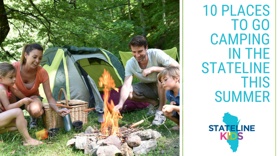 10 Places to Go Camping in the Stateline This Summer