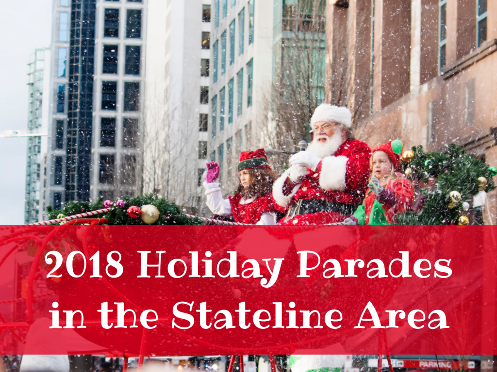 2018 Holiday Parades in the Stateline Area