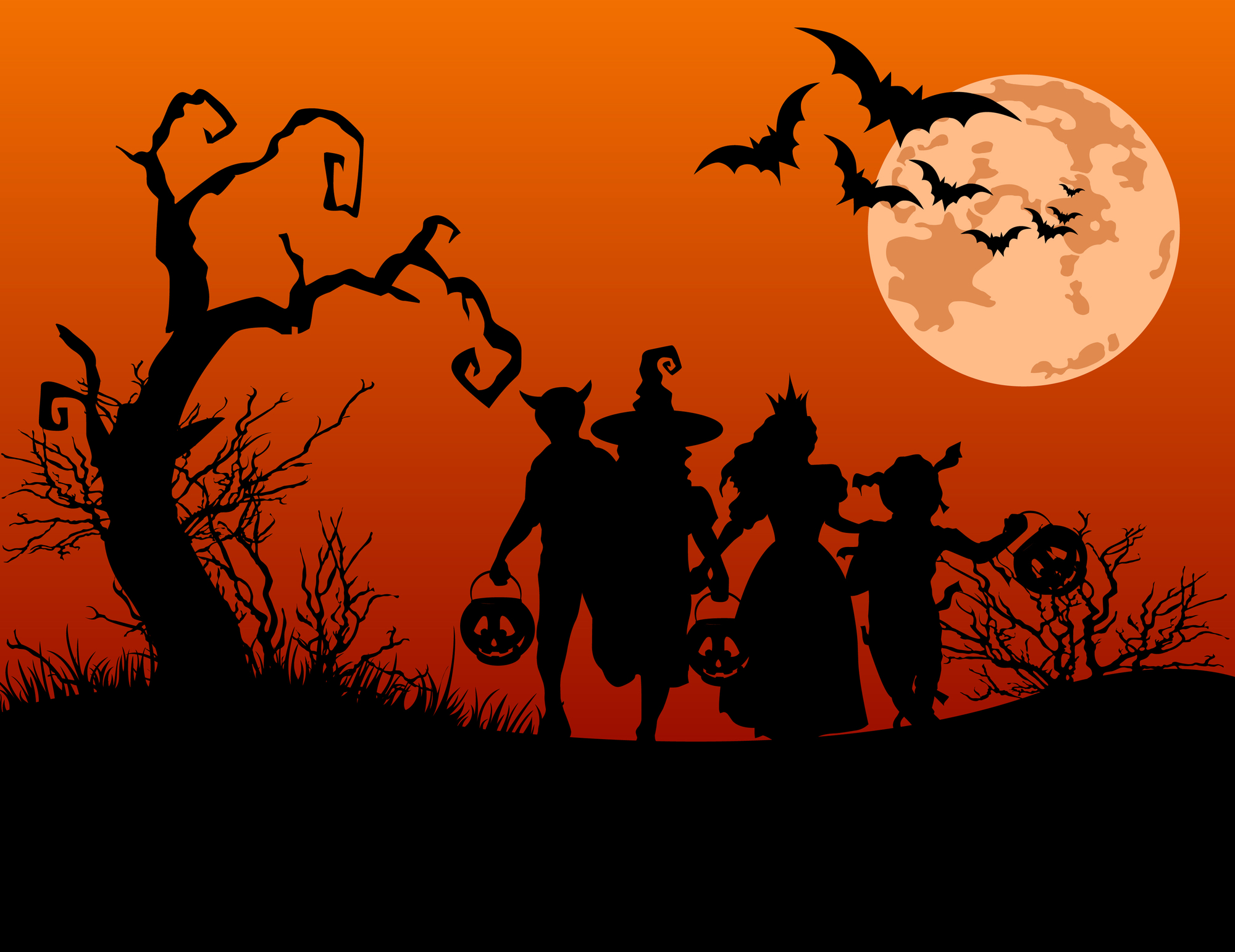 2018 Trick or Treat times for Rockford, IL area