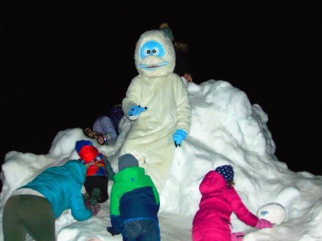 Snow Fort Yeti Fest Rockton IL