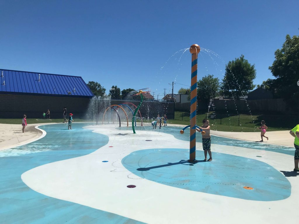 Splash Pads, Spray Pads, Spraygrounds and Wading Pools in the Rockford Area
