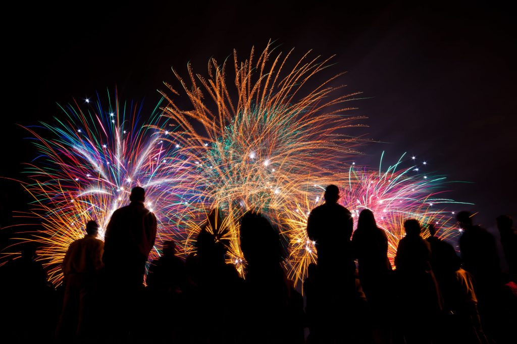 Rockford Illinois Fireworks show