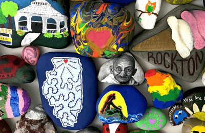 Go Hunting for Kindness Rocks in the Stateline