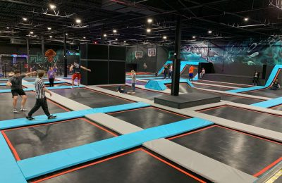 Flow Trampoline Park in Rockford