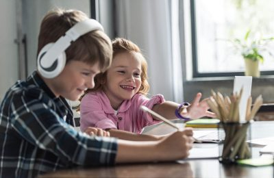 Podcasts and Audiobooks for Kids to Enjoy While Staying at Home