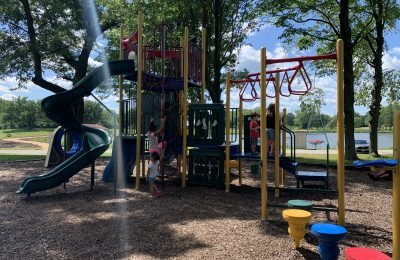 Levings Lake Playground in Rockford