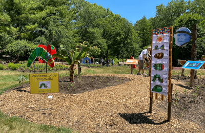 The Very Hungry Caterpillar StoryWalk at Rotary Gardens