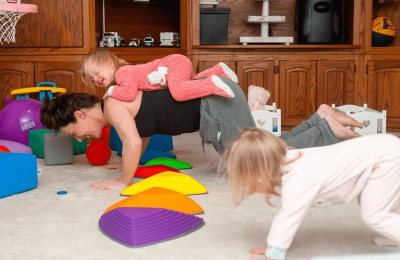Find Time for Daily Fitness with MOM-Minutes