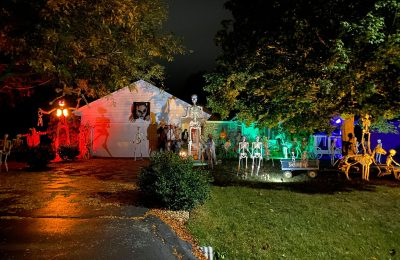 Halloween Displays at Homes and Businesses in the Stateline